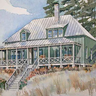 18 small house plans best small house plans and smallest for Small coastal homes