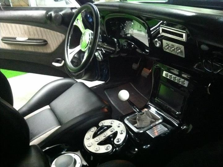 1970 Chevelle SS custom center console Auto Craft of Scarsdale