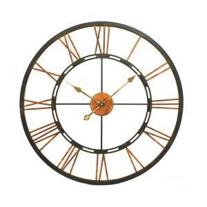Hummingford Metal Skeleton Wall Clock