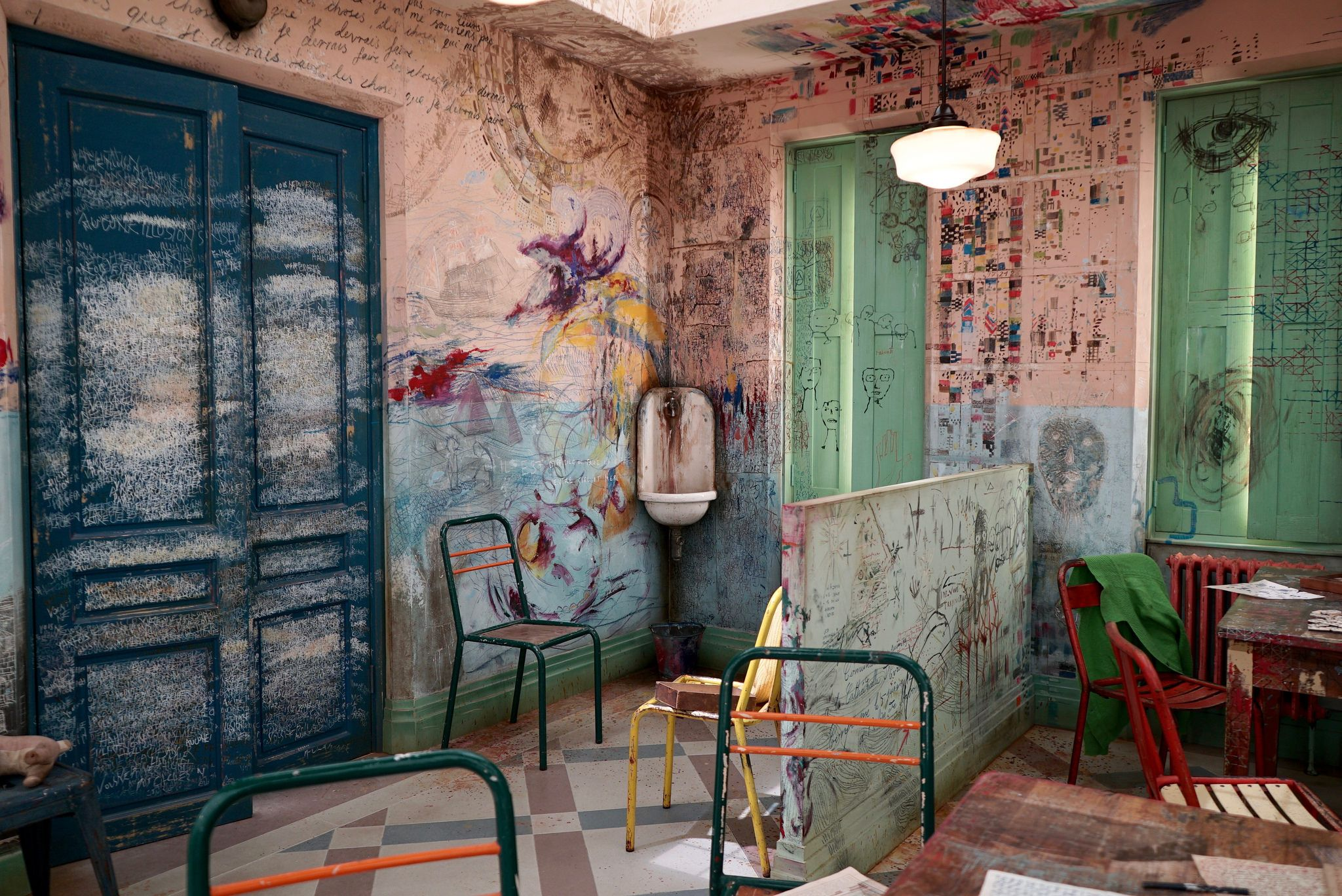Jean Dubuffet The Asylum. Helly Nahmad London at Frieze Masters ...