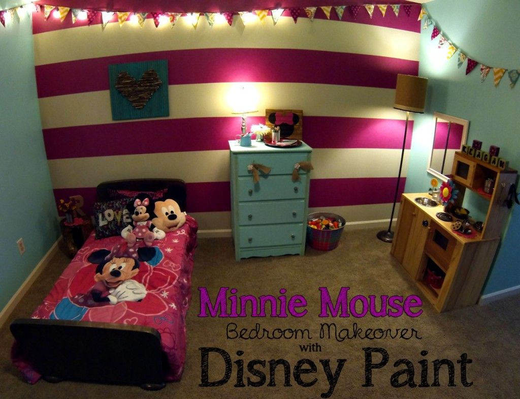 Minnie Mouse Bedroom Reveal Minnie Mouse Bedroom Minnie Mouse