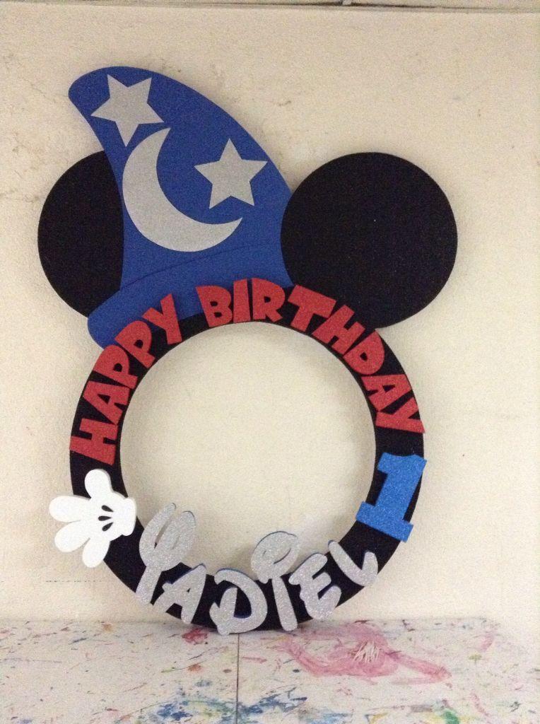 Mickey mouse mago | Boy VF | Pinterest | Marcos, Marcos para foto y ...