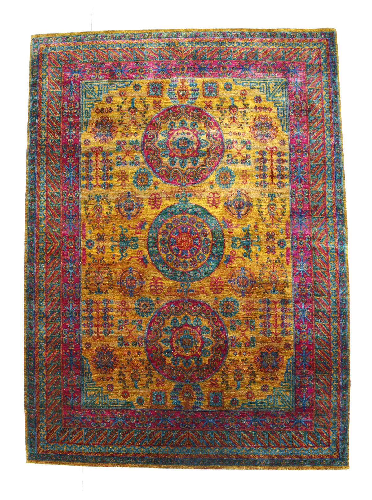 Fj Kashanian 9 X 12 Sari Silk Rug Silk Rug Colorful Rugs Rug