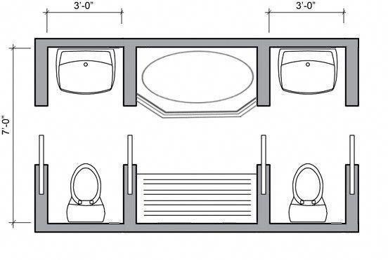 Unbelievable Area Saving Concepts For Toilet Design Budget Bathroom Remodel Bathroom Floor Plans Jack And Jill Bathroom