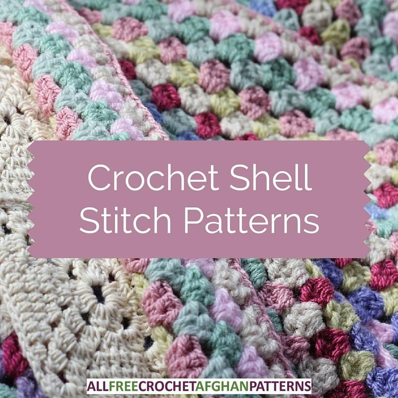 29 Crochet Shell Stitch Patterns Crochet Stitches Tutorials
