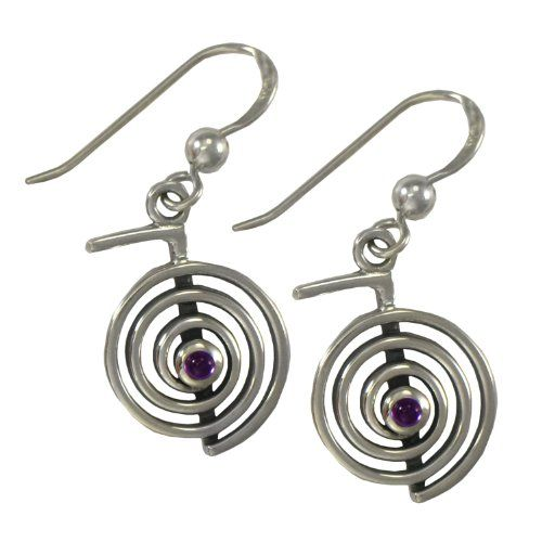 silver zeige earstud prince sterling love symbol rememberance handmade earrings
