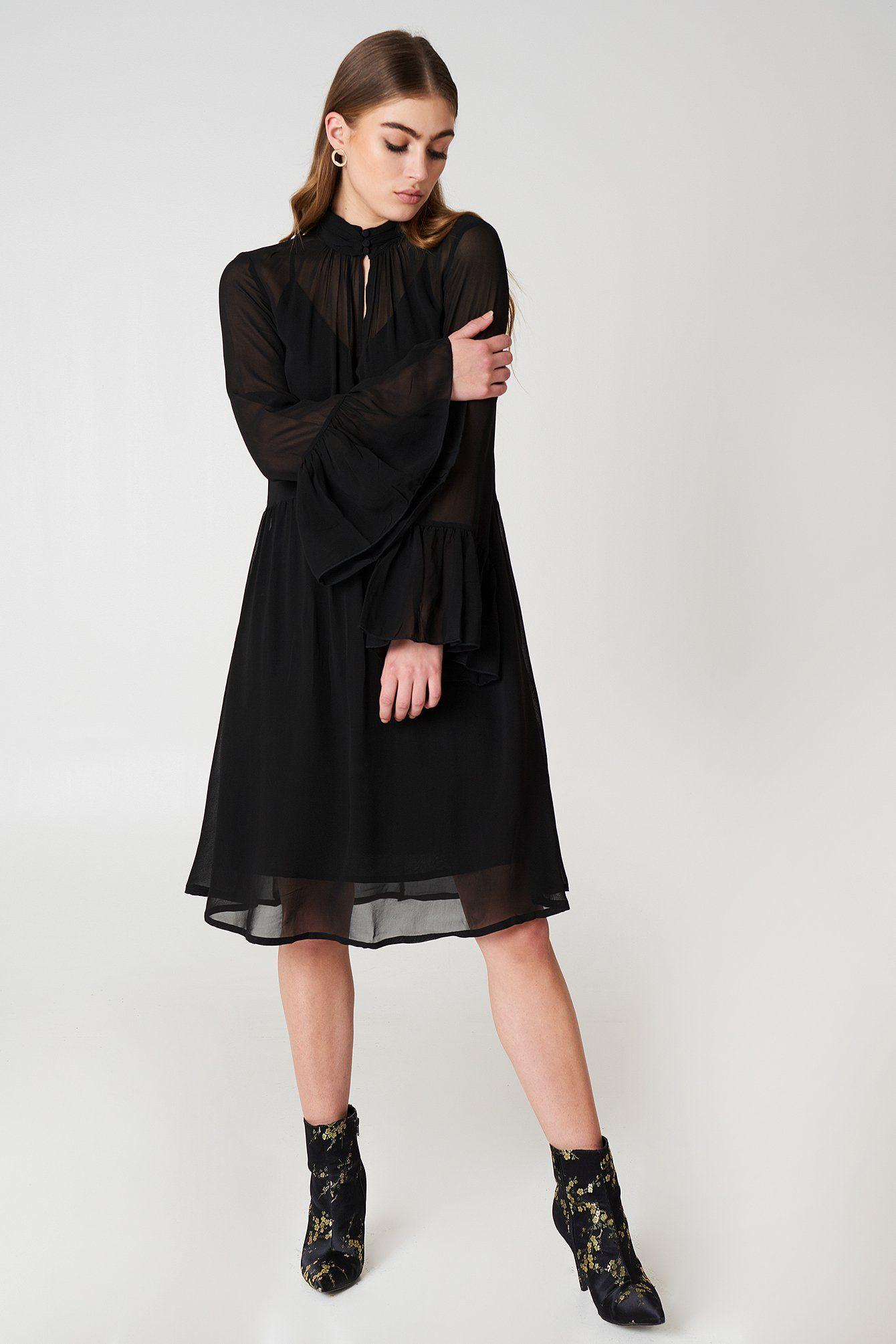 7f5288dc Gestuz Baxtor Dress - Black | Bree Wilson – Sophisticated Siren ...