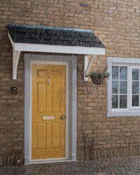 Porch Kit Flat Roof Porch Canopy 1600mm Door Canopy Over Door Canopy Porch Canopy