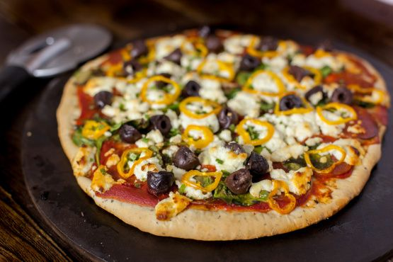 Super Crispy Thin Pizza Crust Recipe Food Com Recipe Thin Crust Pizza Thin Pizza Pizza Crust