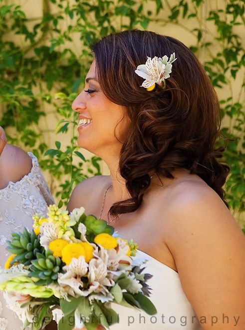 Retro Wedding Hair Bridal Hair Wedding Down Do Beachy