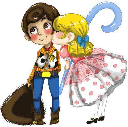 Toy Story: Woody & Bo Peep