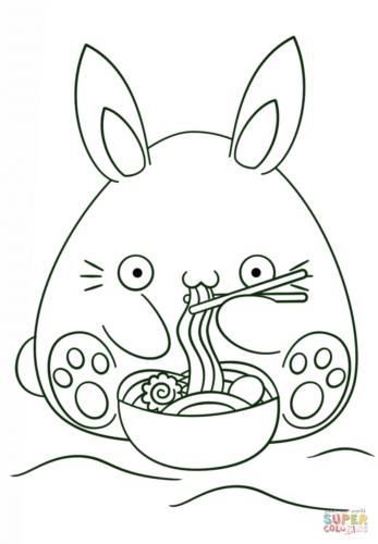 Imágenes kawaii dibujos para colorear tiernos y bonitos – Todo ...