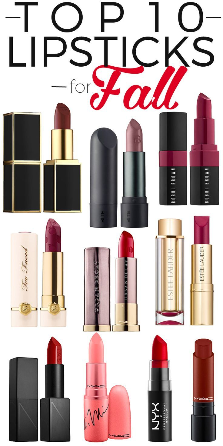 Bold Berry Lipsticks To Wear ThisFall