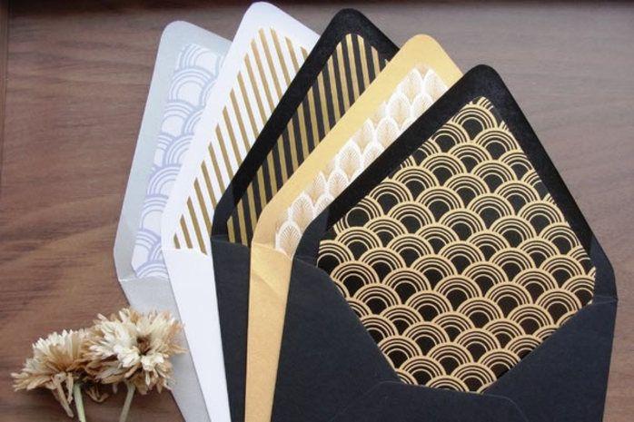 Wedding Invitation Envelope Liner