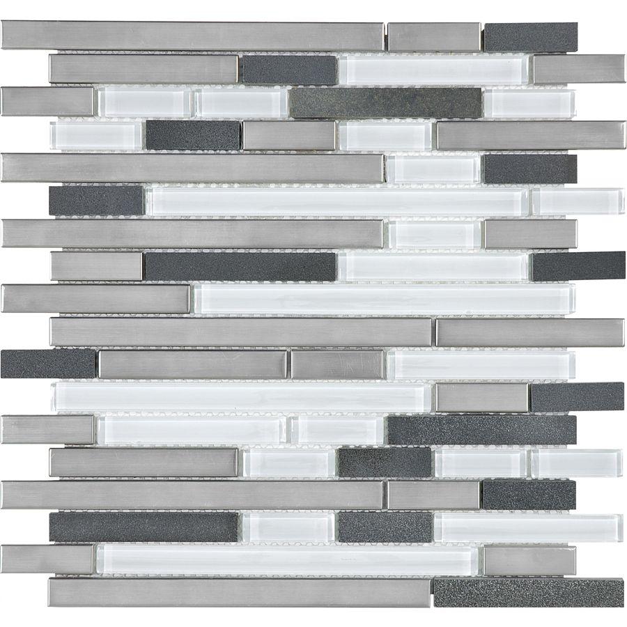 Superior Allen And Roth Backsplash Part - 9: My New Kitchen Backsplash! Allen + Roth Glacier Links Mixed Material Wall  Tile