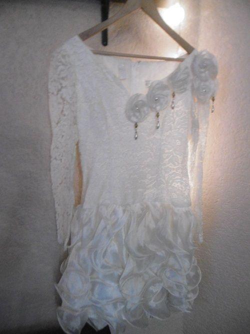 Robe de mariée dentelle Ivoire taille 40 Uzanel Paris