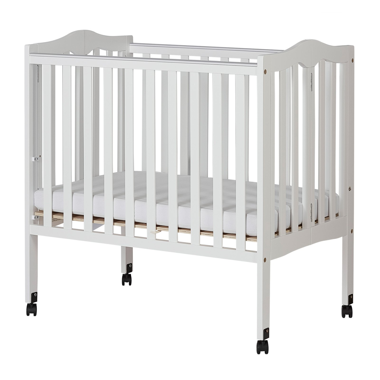 Dream On Me 2 In 1 Lightweight Folding Portable Crib Products In 2019 Portable Crib Cribs Convertible Crib