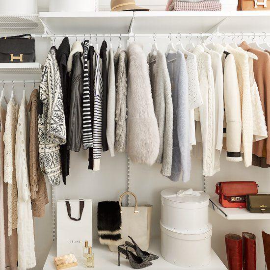 Ikea Closet Organization Hacks Home Stuff Cleaning Closet