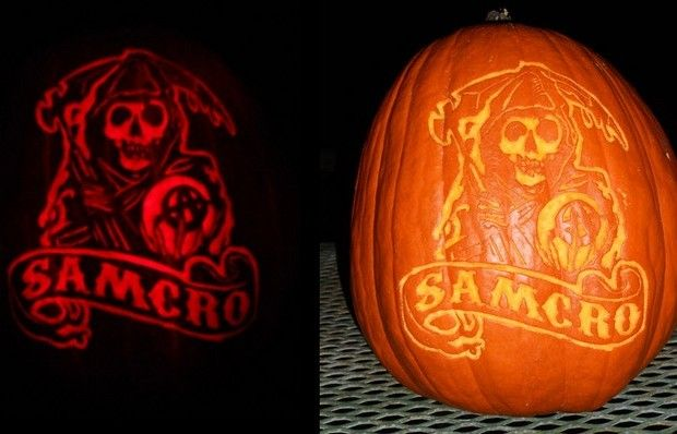 Sons Of Anarchy Pumpkin Carving Sons Of Anarchy Sons Of Anarchy