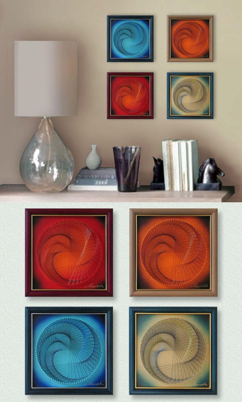 String art wall art set cheery wall decor d wall art gifts