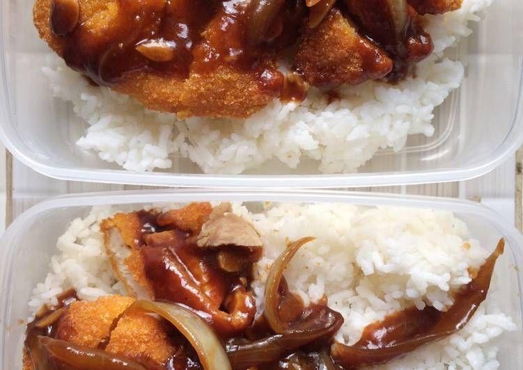 Resep Chicken Katsu Saus Teriyaki Rabubaru Oleh Wiwi Widiyati Resep Makanan Ayam Resep
