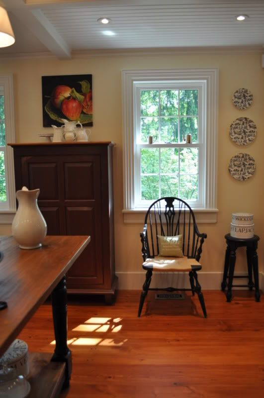 Oldhouse1u0027s Kitchen On Gardenweb, Wall Color Is BM Windham Cream.  Http://ths.gardenweb.com/forums/load/kitchbath/msg0920504312603.html?41