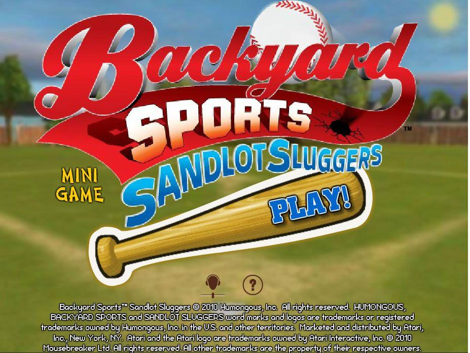 BackYard Sports | Backyard baseball, Backyard sports, Backyard