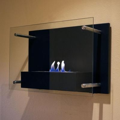 Nu-Flame Radia 236 in Wall-Mount Decorative Bio-Ethanol Fireplace