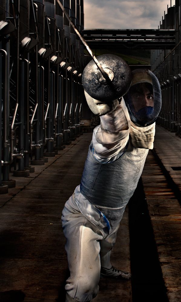 Fencer #photography #sports #fencing