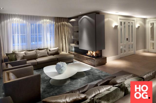 Moderne woonkamer ideeen voorbeeld inrichting woonkamer