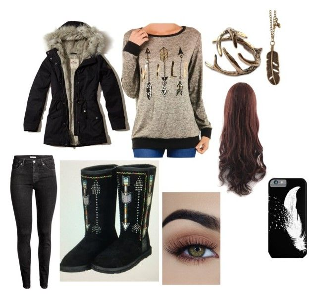 """""""Alpha's mate- Fall Outfit"""" by countrylove531 on Polyvore featuring Hollister Co., H&M and Montana West"""