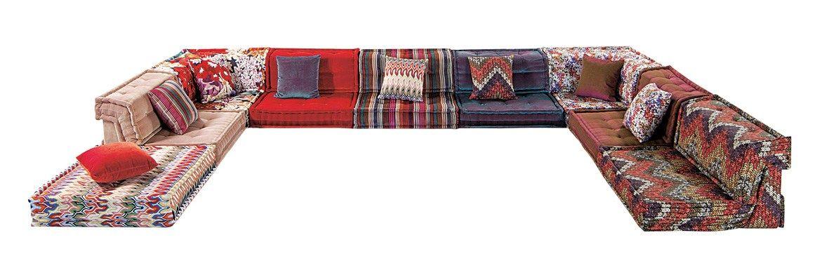 Canape Composable En Tissu Mah Jong Missoni Home By Roche Bobois