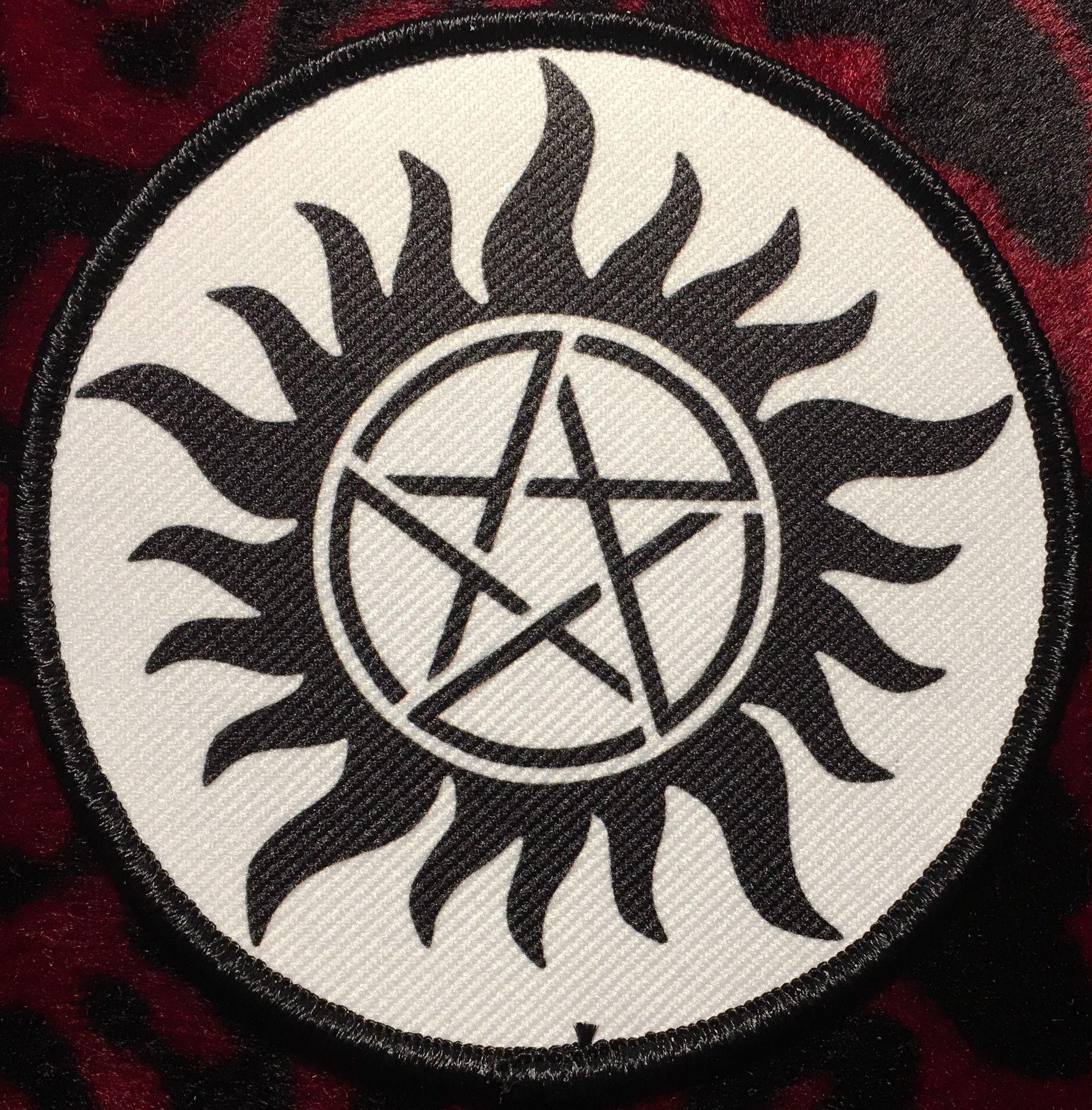 Supernatural Style A Patch Supernatural tattoo, Anti