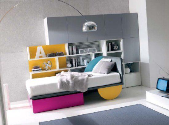 Camerette Grandi ~ Il letto bed arredamento per ragazzi o design da grandi
