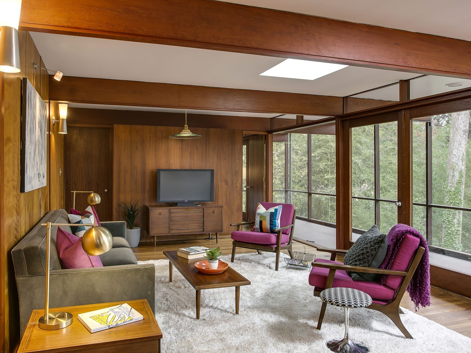 Milton Julian House, Chapel Hill, NC, USA (1954) Architect: George Matsumoto