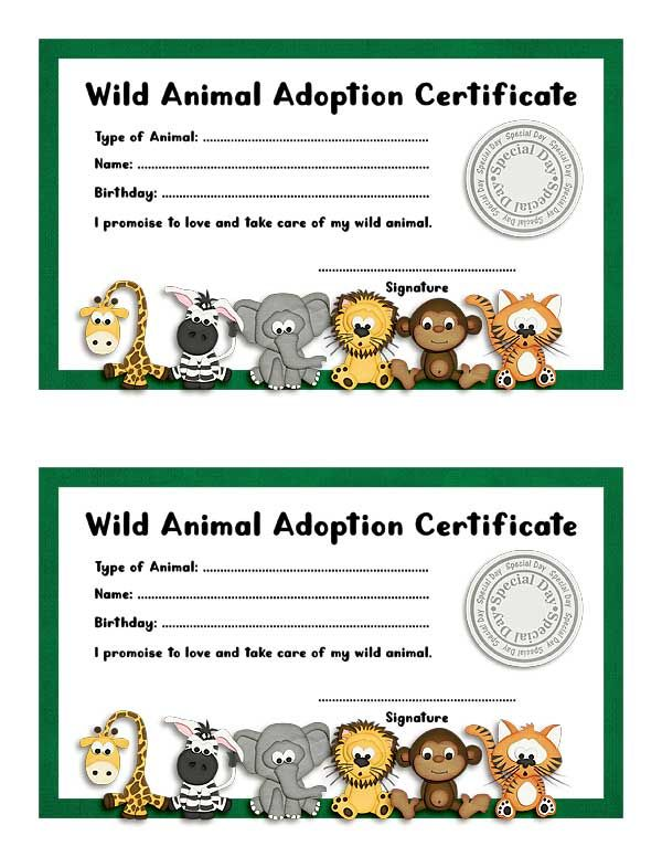 Image result for jungle themed adoption certificates wild spring image result for jungle themed adoption certificates fandeluxe Choice Image