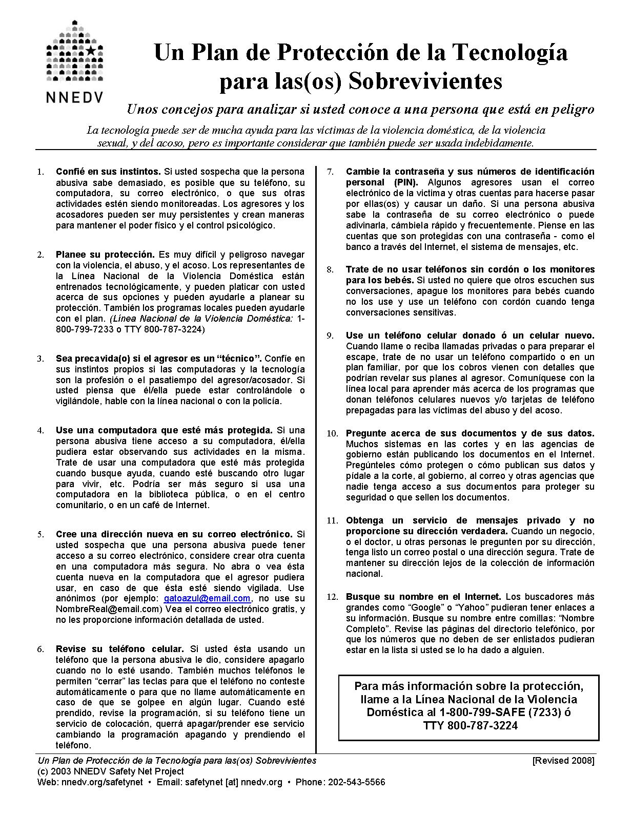 Worksheets Domestic Violence Survivors