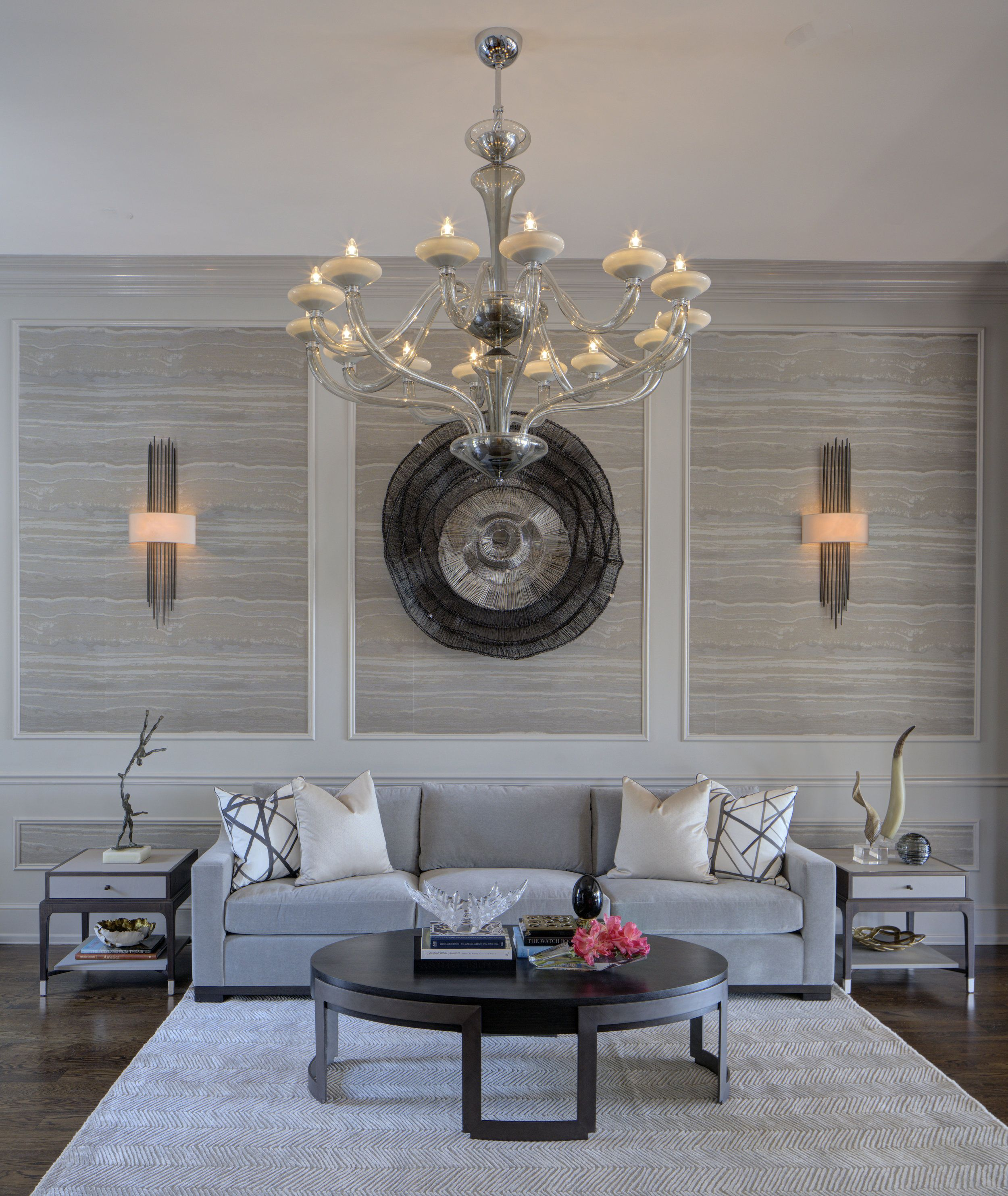 Michael Abrams Interiors Luxury, Modern And Contemporary Living Room Best