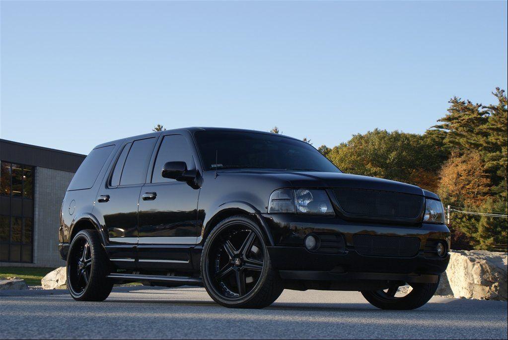 Black Matte Black Rims Ford Explorer Images Lorenzo Wl19 Gloss