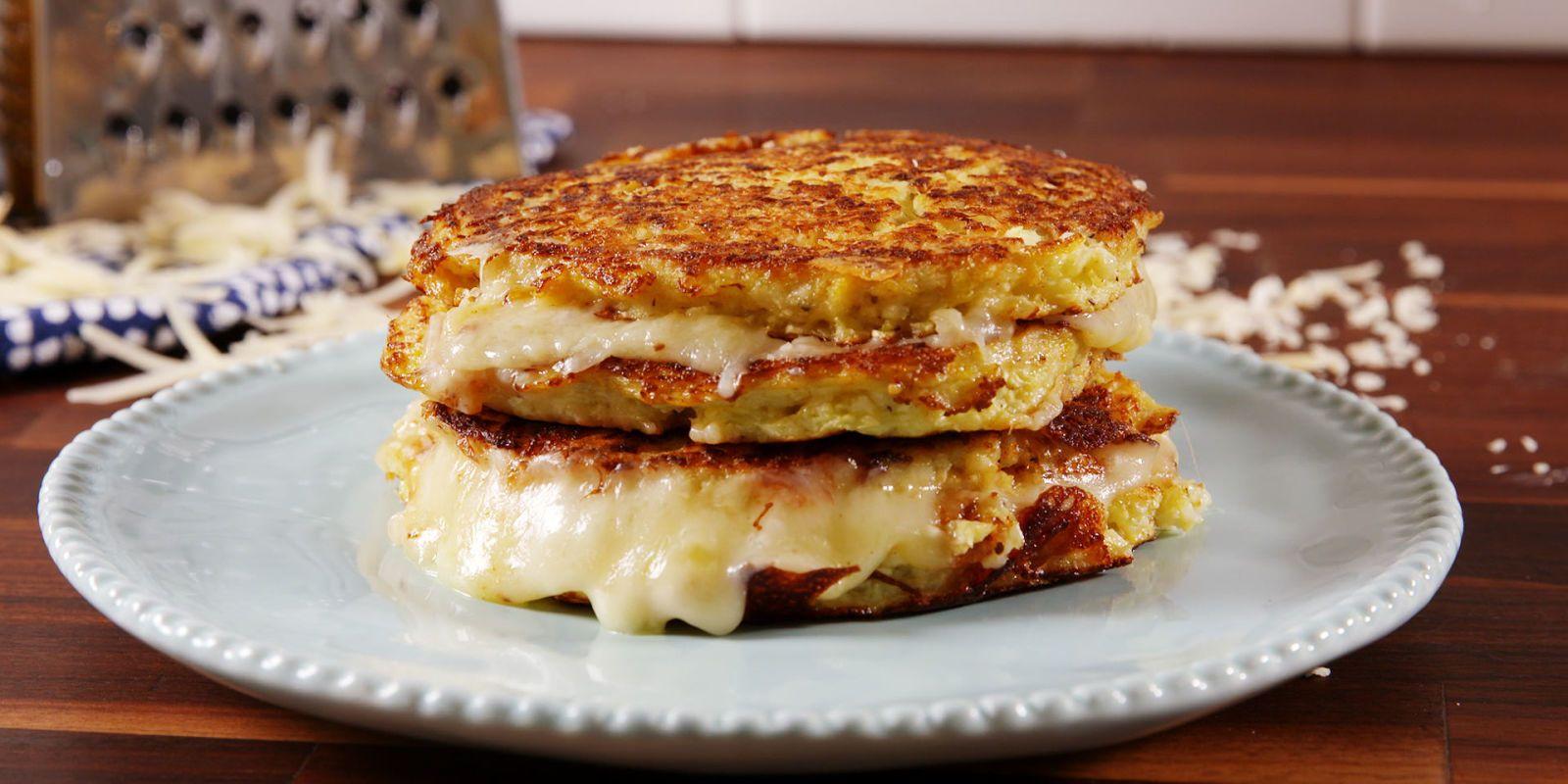 Cauliflower Grilled Cheese Recipe Recipes Cauliflower Grilled