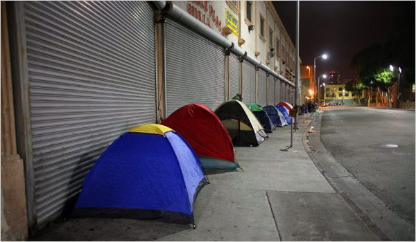 Skid Row Is Known As Tent City God Gave Me A Vision To Equip Our Fellow Brothers And Sisters With Housing Food Rehab Skid Row Los Angeles Skid Row Homeless