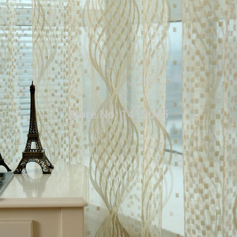 Cortinas altas para ventana en pinterest grandes cortinas cortinas de luz lateral y cubiertas - Como hacer visillos ...