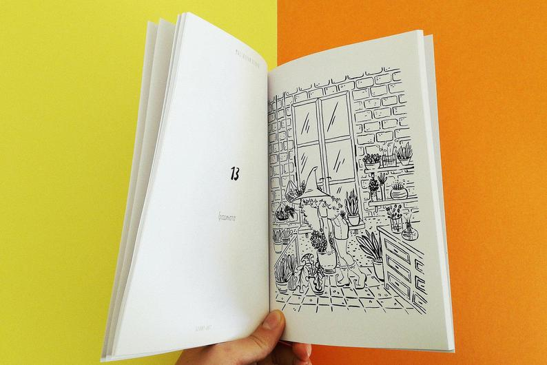 Ink Potions Inktober Coloring Book Zine For Children Etsy Coloring Books Inktober Sketch Book