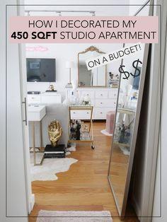 My 450 SQFT Studio Apartment Reveal images