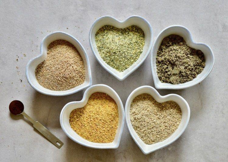 5seed diy vegan protein powder blend recipe vegan