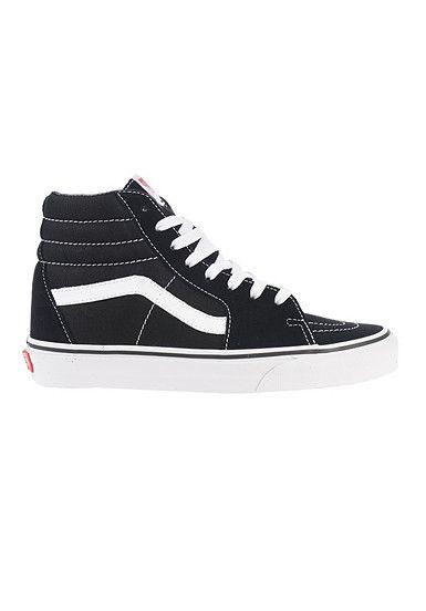 VANS Sk8 Hi Sneaker Schwarz | Vans schuhe damen, Schuhe