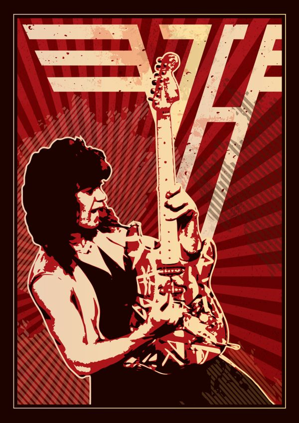 Pin By Jose Luis Garcia On Music In 2020 Eddie Van Halen Van Halen Van Halen Logo