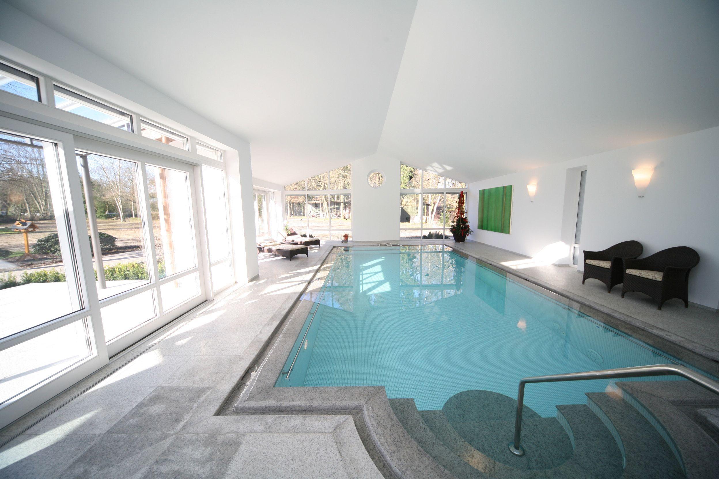 Indoor Pool Einfamilienhaus Loopelecom Indoor Pool Bauen Traumhafte ...