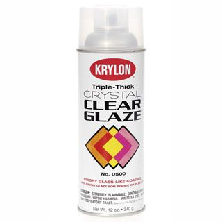 Consumercrafts Product Krylon Triple Thick Clear Glaze Spray Gloss Spray Paint Krylon Spray Paint Colors