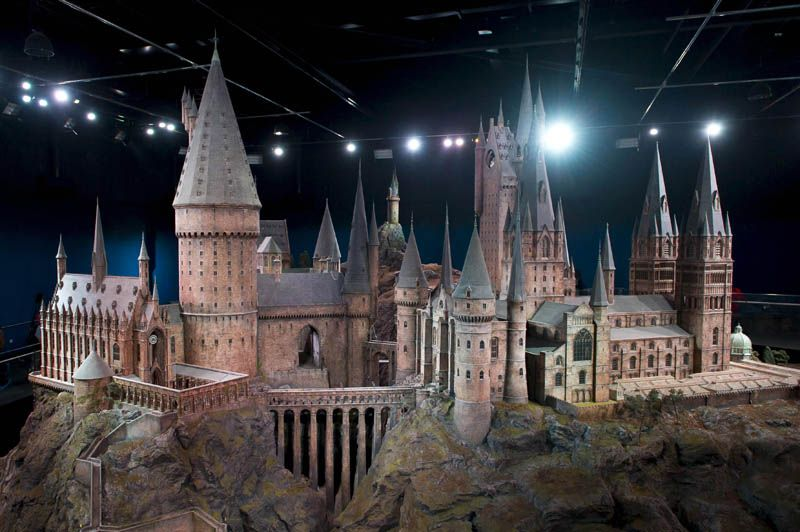 The Real Life Hogwarts Castle Revealed Warner Bros Studio In Leavesden Nw Of